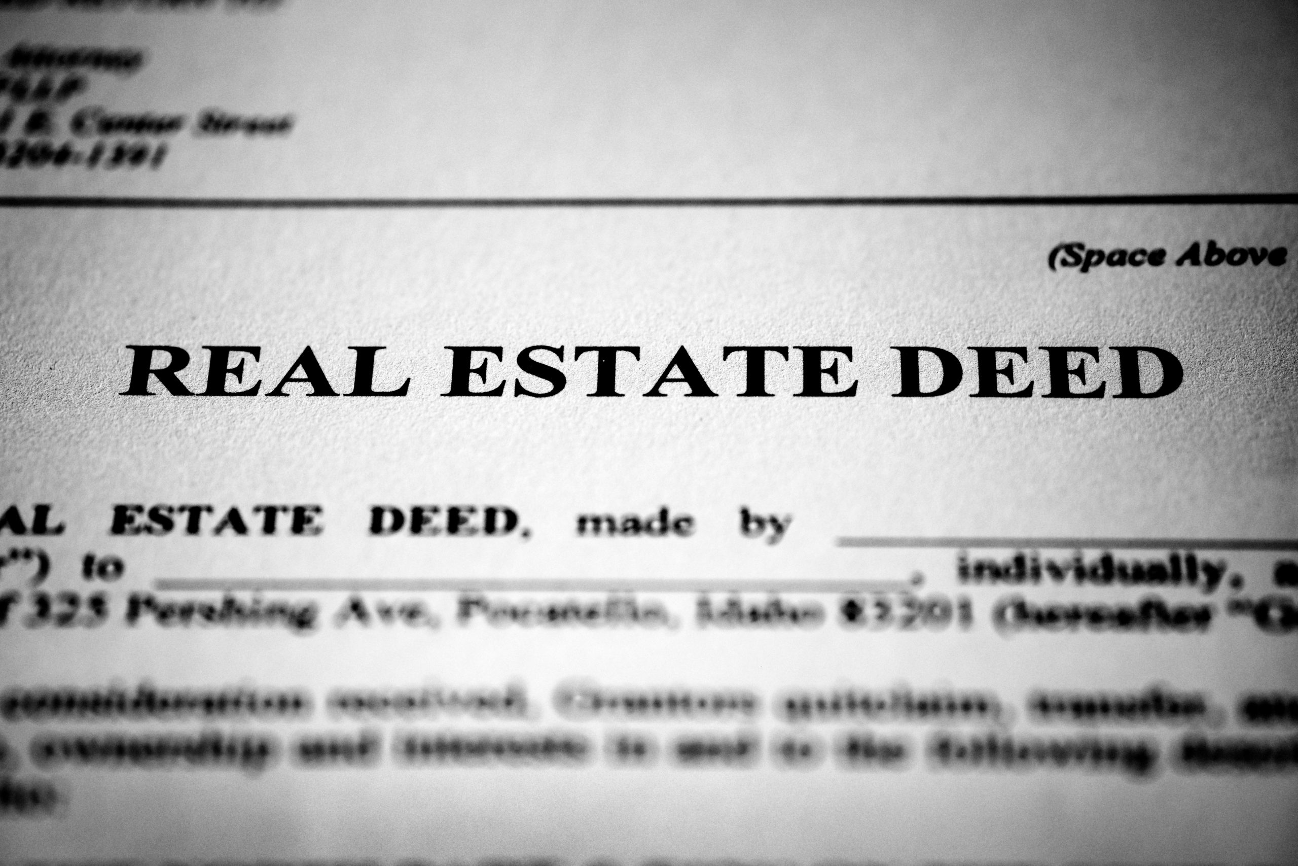 A Primer on The Various Forms of Property Deeds