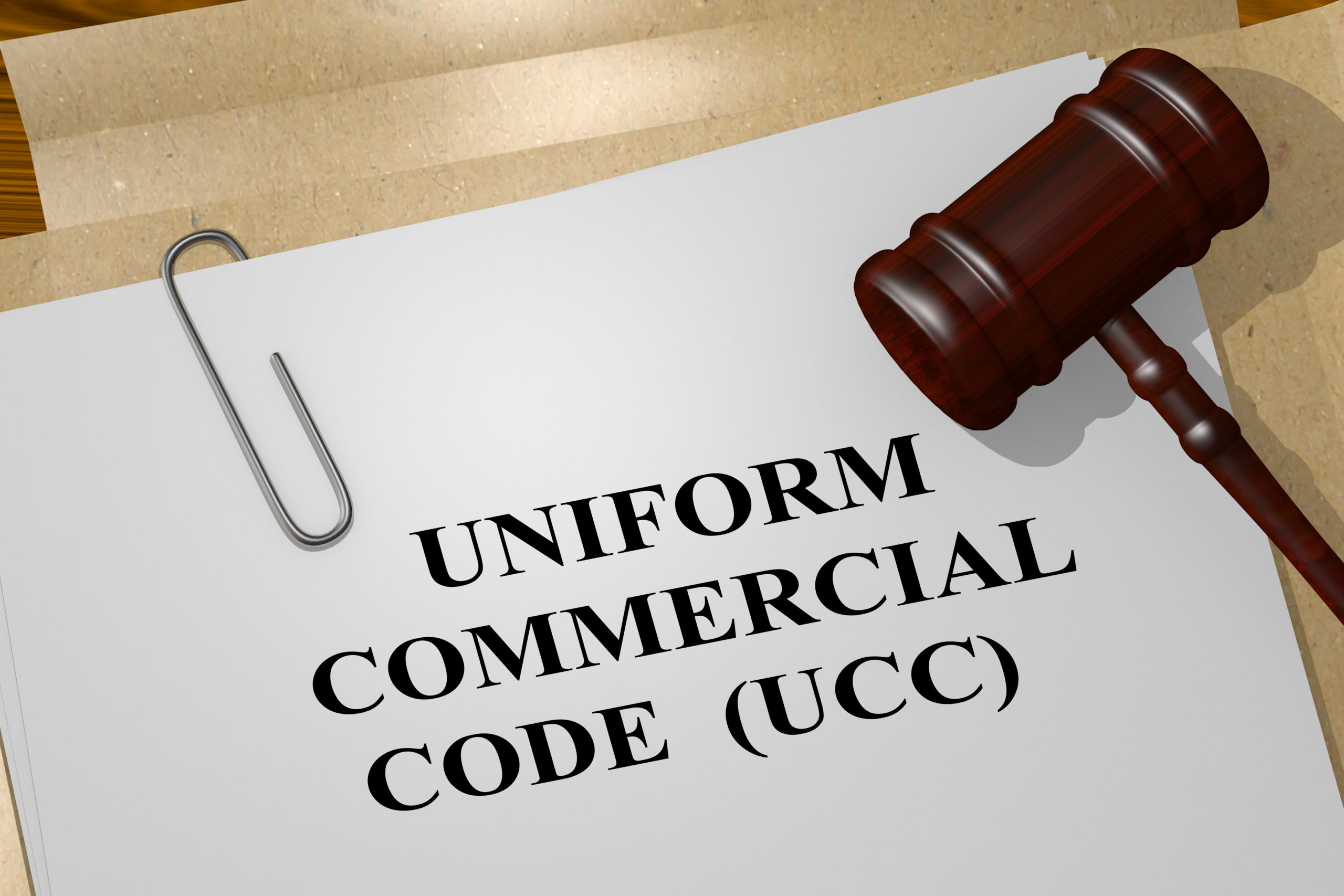 """What is a UCC """"To Reflect""""?"""